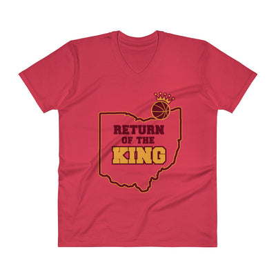 ''Return of the king'' V-Neck T-Shirt