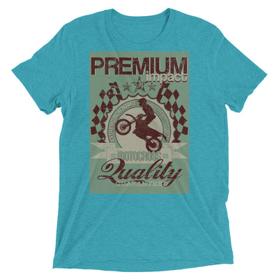 ''Premium quality.'Short sleeve t-shirt