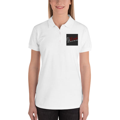 ''Mom'' Embroidered Women's Polo Shirt