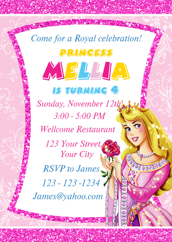 Princess aurora birthday invitationprincess aurora invitation princess aurora birthday invitationprincess aurora invitationprincess aurora invitebirthday invitation filmwisefo