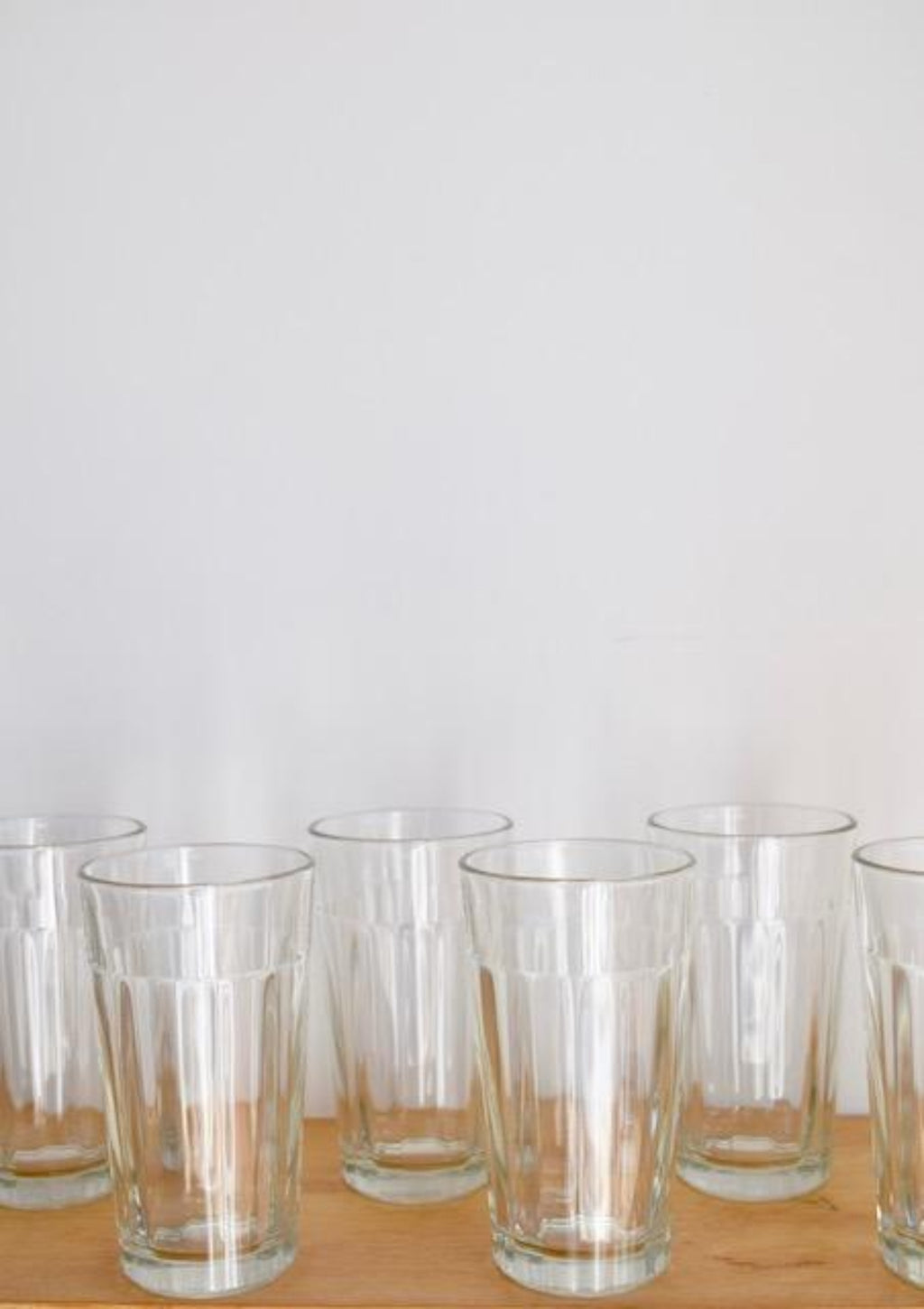 Libbey Ribbed Glasses