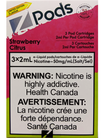 Z PODS STRAWBERRY CITRUS