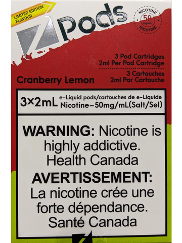 Z PODS CRANBERRY LEMON