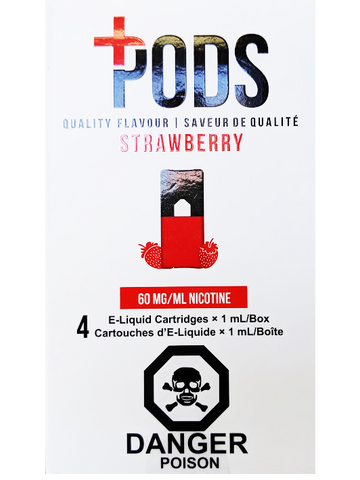 PLUS PODS STRAWBERRY CANADA