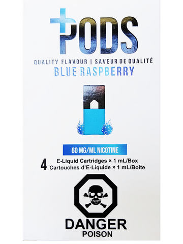 PLUS PODS BLUE RASPBERRY ONTARIO