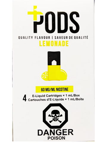 PLUS PODS LEMONADE