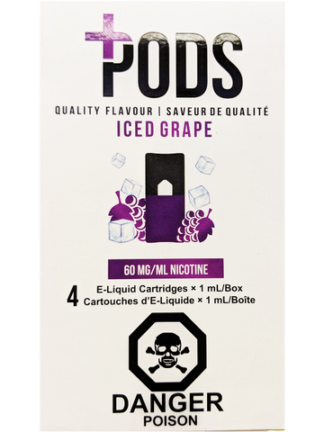 PLUS PODS ICED GRAPE