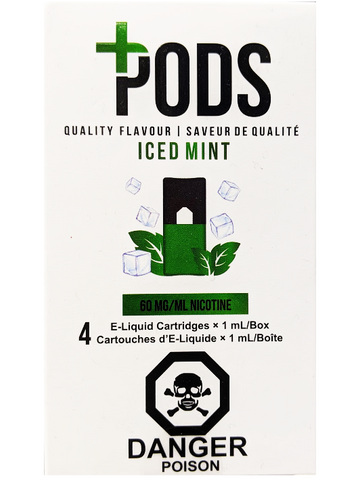 PLUS PODS ICED MINT CANADA