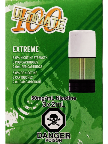 STLTH ULTIMATE 100 EXTREME PODS
