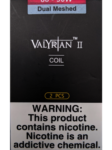 UWELL VALYRIAN 2 DUAL MESH COILS
