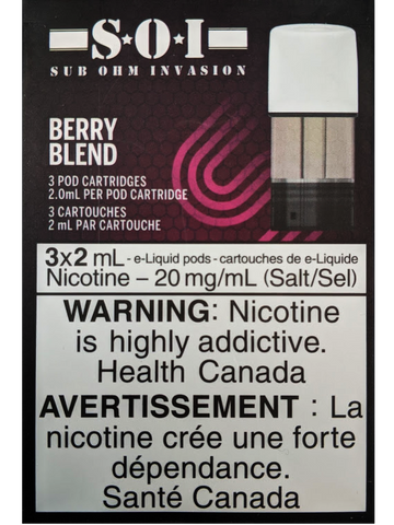 STLTH PODS SOI BERRY BLEND CANADA