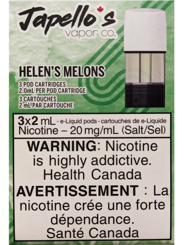STLTH PODS JAPELLO'S HELEN'S MELONS CANADA