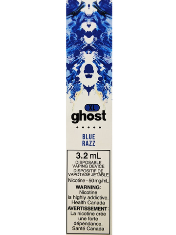 GHOST XL BLUE RAZZ VAPE