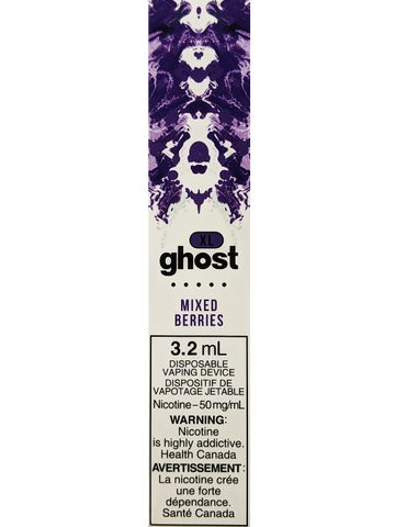 GHOST XL MIXED BERRIES VAPE