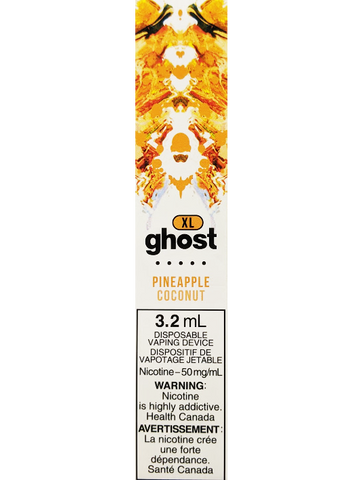 GHOST XL PINEAPPLE COCONUT VAPE