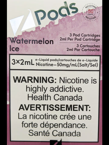 Z PODS WATERMELON ICE CANADA
