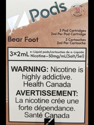 Z PODS BEAR FOOT CANADA