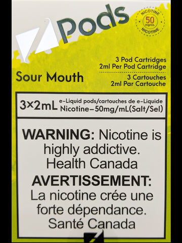 Z PODS SOUR MOUTH CANADA