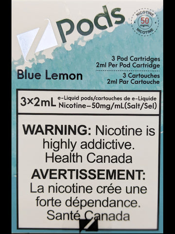 Z PODS BLUE LEMON CANADA