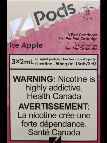 Z PODS ICED APPLE CANADA