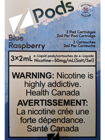 Z PODS BLUE RASPBERRY