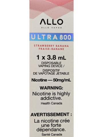 ALLO ULTRA STRAWBERRY BANANA