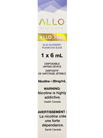 ALLO 1500 BLUE RASPBERRY