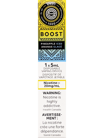 ENVI BOOST PINEAPPLE ICED