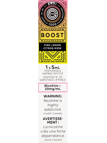ENVI BOOST PINK LEMON