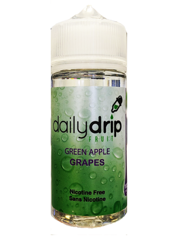 DAILY DRIP GREEN APPLE GRAPES E LIQUID CANADA