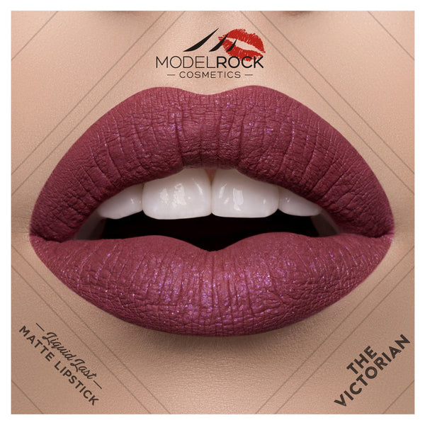 Modelrock Liquid to Matte Lipstick- The Victorian