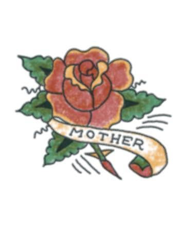 Mother Red Rose