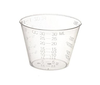 SPFX 30ml Measuring Cups- Pack of 12