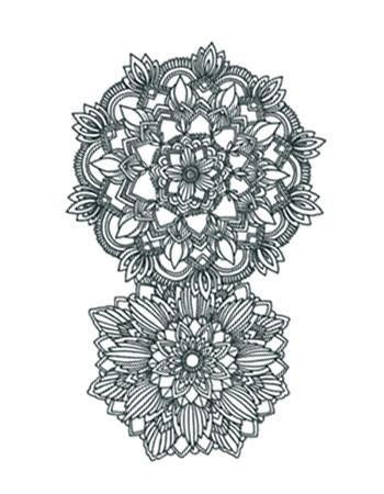 Mandala Flower Ornament