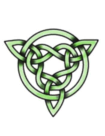 Celtic Green Knot 2