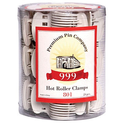 999 Hot Roller Clamp Grey 24pc