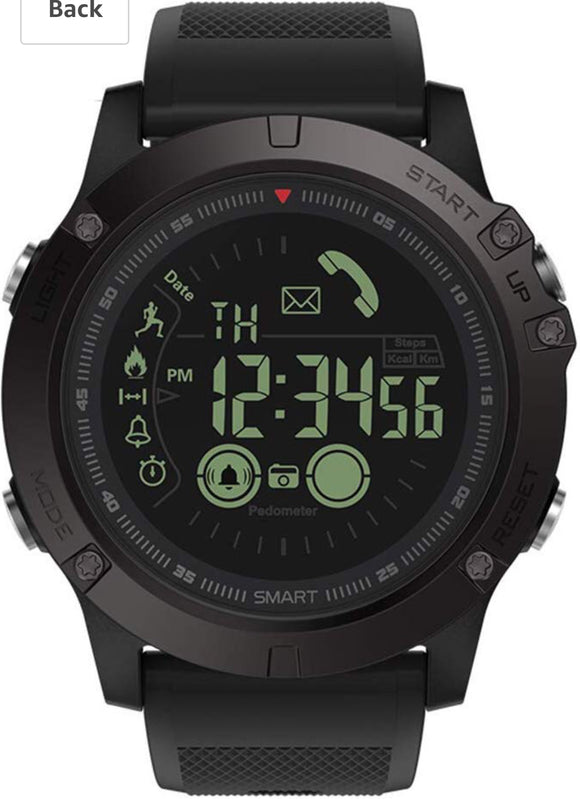 2019 Military Grade Super Tough Sports Smart Watch for Men