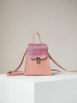 Mini Satchel Macopa (in Pink)