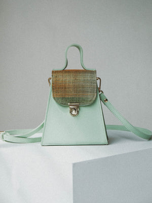 Mini Satchel Calamansi (in Mint Green)