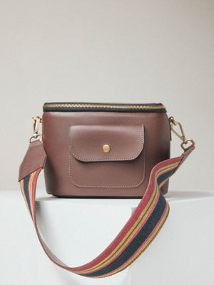 Box Satchel Malabulak (in Maroon)