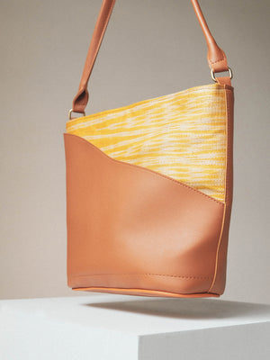 Luntian Bayong Bag in Sunglow