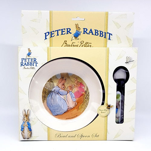 Peter Rabbit Bowl and Spoon Set