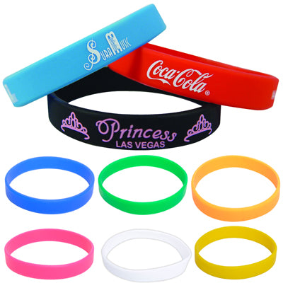 Silicone Wristbands - As low as $1.17