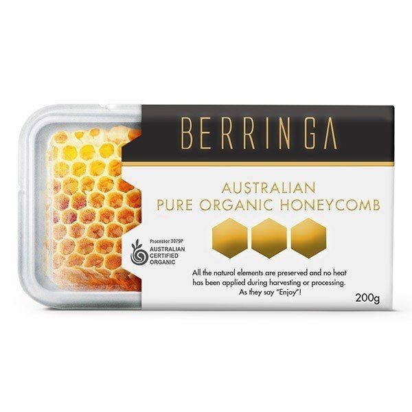 Australian Pure & Natural Honeycomb 200g (GF)