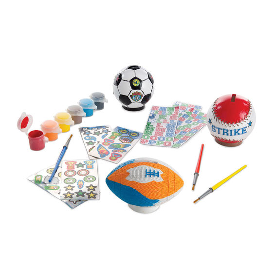 Decorate Your Own - Sports Set