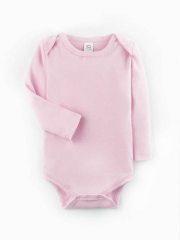 Pink Long Sleeve Bodysuit
