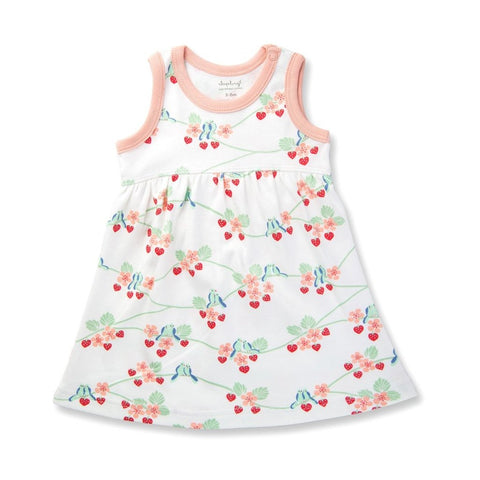 Bluebirds Strawberry Heart Dress