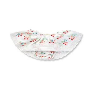 Bluebirds Strawberry Heart Skirt Bloomer