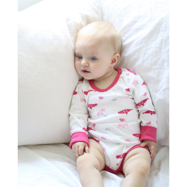 Raspberry Fizz Long Sleeve Bodysuit