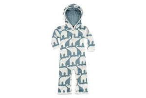 Elephant Hooded Romper